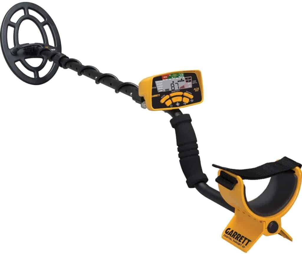 Garrett ACE 300 Metal Detector with Waterproof Coil and Headphone