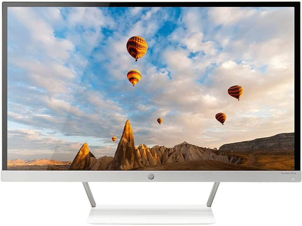 HP 27er 27-Inch Full HD 1080p IPS LED Monitor with Frameless Bezel and VGA & HDMI