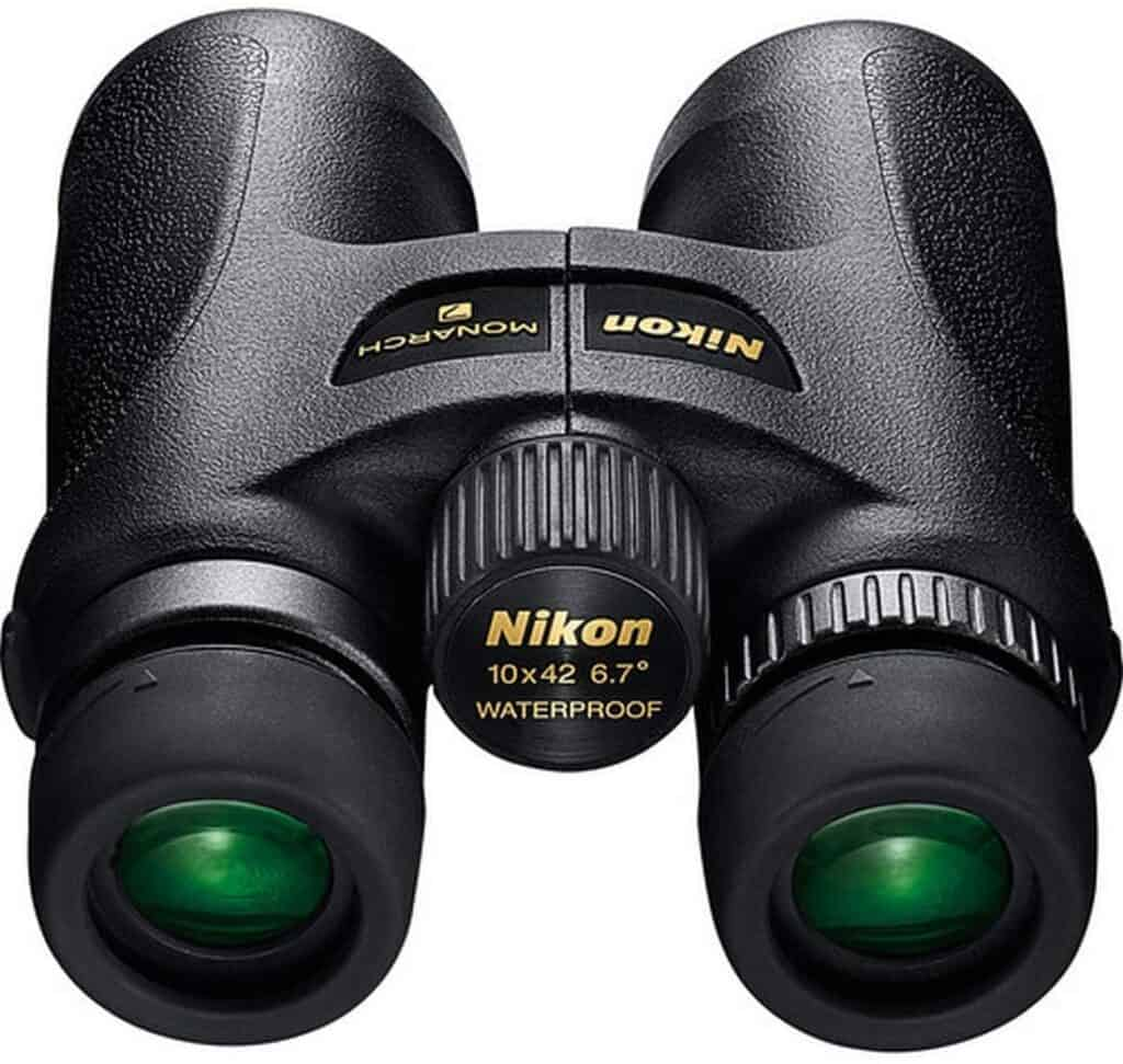 Nikon 7549 MONARCH 7 10x42 Binocular (Black)  Roll over image to zoom in Nikon 7549 MONARCH 7 10x42 Binocular