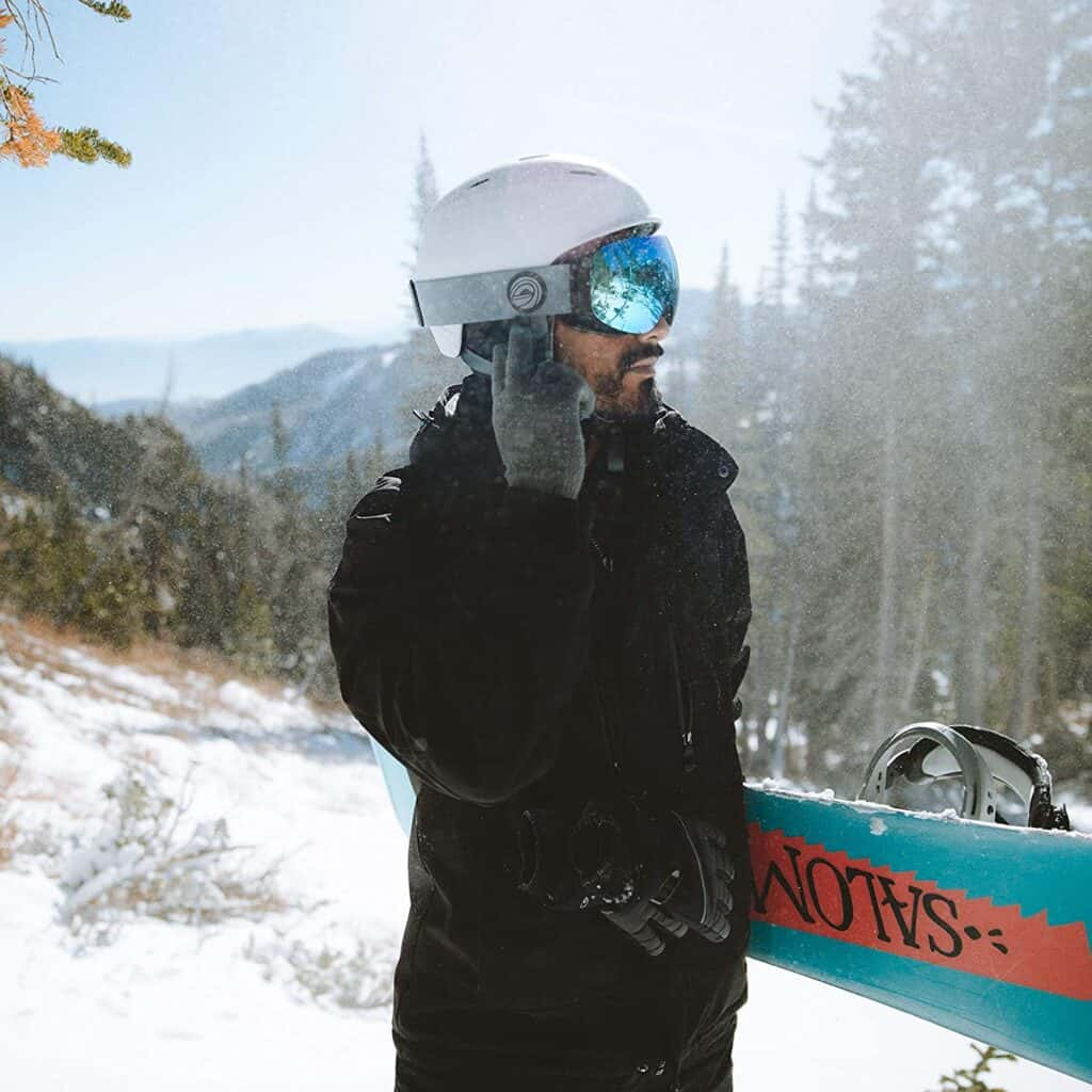 Alta Wireless Bluetooth Helmet Drop in Headphones- HD Speakers Compatible with Any Audio Ready Ski Snowboard Helmet