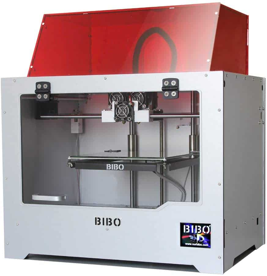 BIBO 3D Printer Dual Extruder Laser Engraving printer