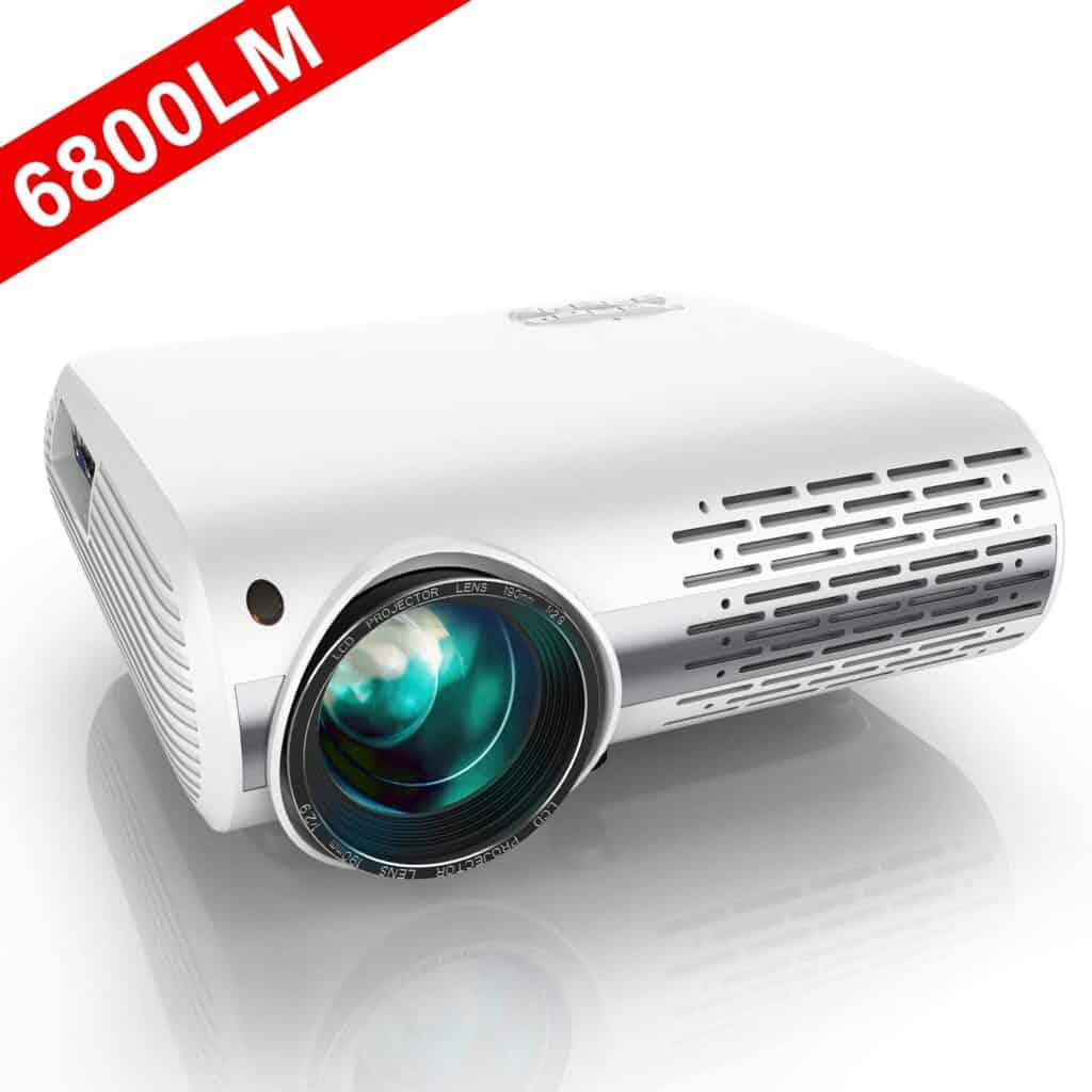 YABER Native 1080P Projector 6800 Lux Upgrade Full HD Video Projector