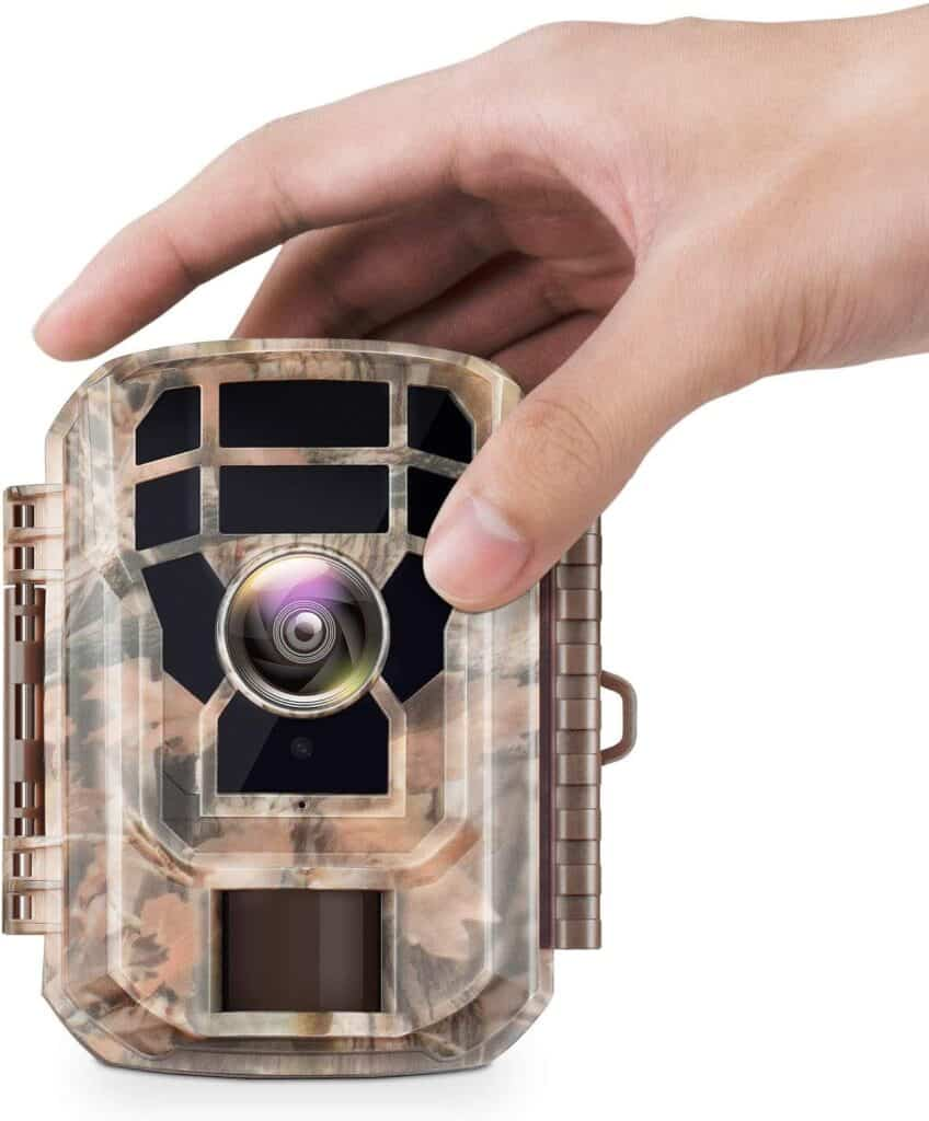 Campark T70 Trail Game Camera No Glow Night Vision 14MP 1080P Outdoor Hunting Cam