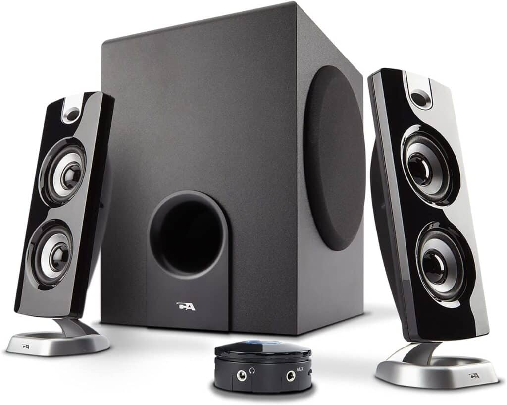 Cyber Acoustics CA-3602FFP 2.1 - best computer speakers under $100