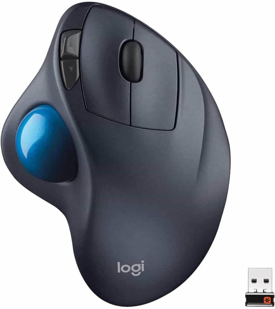 Logitech M570 Wireless Trackball programming mouse