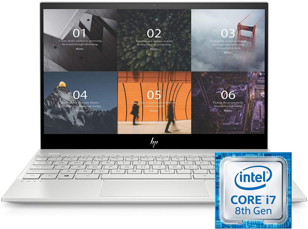 HP ENVY 13-13.99 Inches Thin Laptop