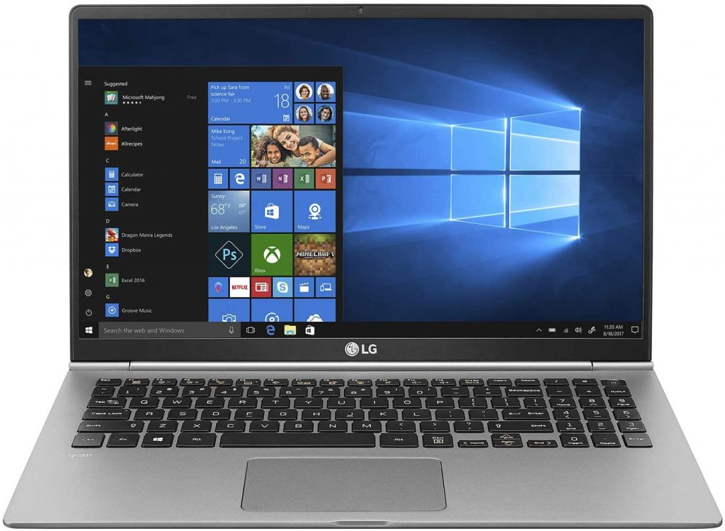 LG gram Laptop for business students