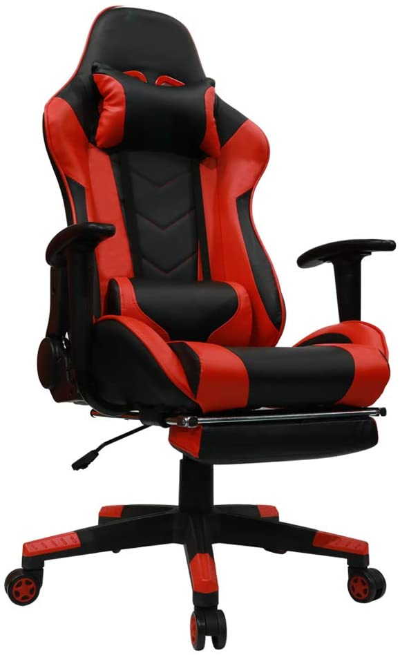 Kinsal Ergonomic High-Back Large Size Gaming Chair with Massage Function