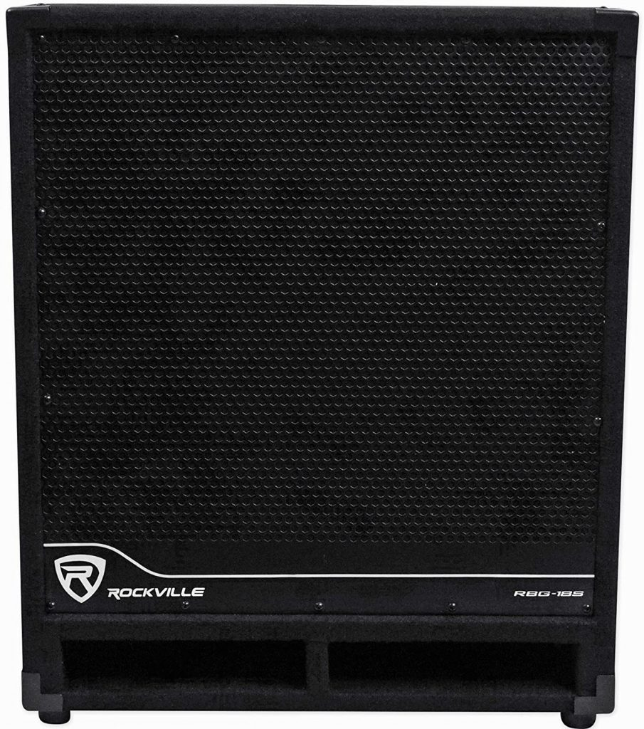 Rockville RBG18S 18 inch 2000W Active Powered PA Subwoofer