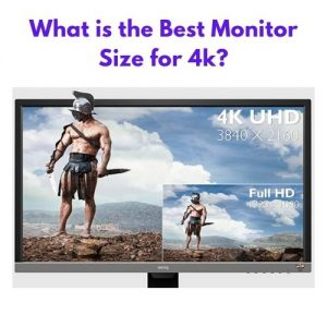 What is the Best Monitor Size for 4k?